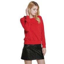 2017 Autumn New Arrivals Women Casual Sweatshirt Brief Pullover Kpop Sweatshirts