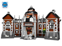 HOT SALE Batman Series Arkham Asylum Building Blocks Bricks Movie DIY Model Kids Toys Compatible LEPINE