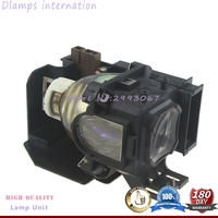 VT85LP Replacement Projector Lamp with cage For NEC VT490 VT491 VT580 VT590 VT595 VT695 VT495 CANON LV 7250 LV 7260 projectors