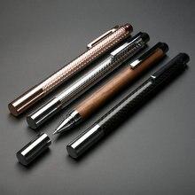 High end KACO bilgelik Metal tükenmez kalem öğrenci için öğretmen iş hediye lüks 0.5mm siyah mürekkep burcu kalemler bir hediye kutusu
