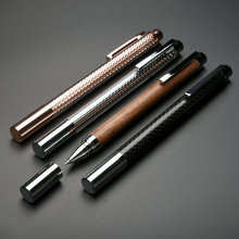 גבוהה סוף KACO חוכמה מתכת Rollerball עט עבור תלמיד מורה מתנה עסקית יוקרה 0.5mm שחור דיו כניסה עם אריזת מתנה