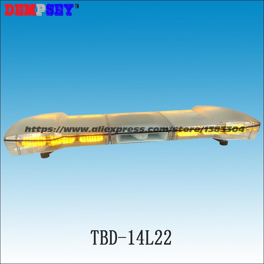 Tbd 14l22 Высокое качество DC12V/24 В светодиодный оповещения о чрезвычайных ситуациях Lightbar с 100 Вт динамик инженерные/спасения крыше автомобиля си