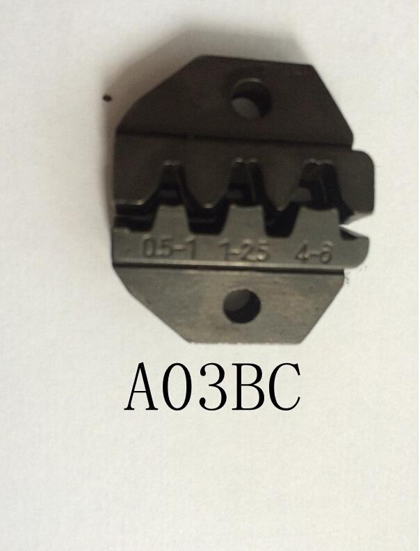 A10wf A101 A26tw Av-10wf Sterben Sets Für Hs Fse Am-10 Em-6b1 Em-6b2 Crimpen Piler Crimpen Maschine Module Ein Set Jaws Handwerkzeuge Zangen