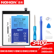 NOHON Li-ion Battery BM3B BM31 BM32 BM22 BM39 For Xiaomi Mi 3 4 5 6 Mix 2 Mi3 Mi4 Mi5 Mi6 Mix2 Mobile Phone Replacement Batarya(China)