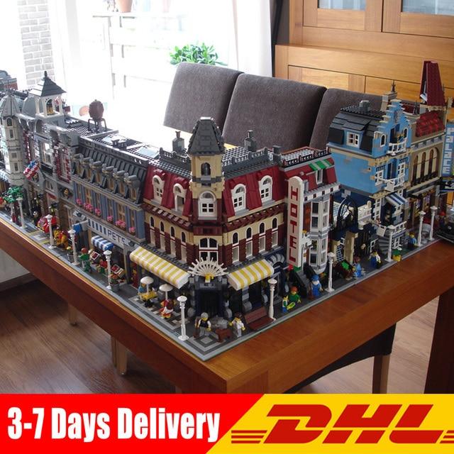 DHL Aosst 15034 15003 15004 15005 15035 15007 15008 15009 16030 16007 16001 16008 16060 Building Blocks Compatible Legoings