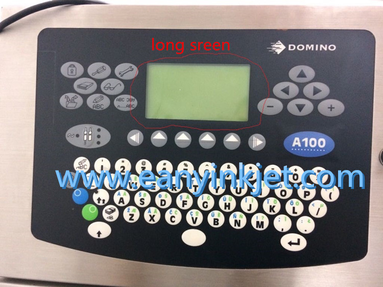 Domino A100 keyboard display keypad long sreen type for Domino A100 A200 A300 A series printer