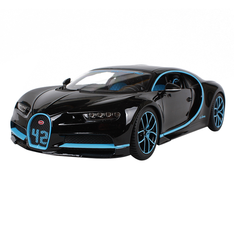 Maisto 1:18 luxury car diecast for Bugatti Chiron new color 252*120*65 car model cool motorcar collecting for men 11040