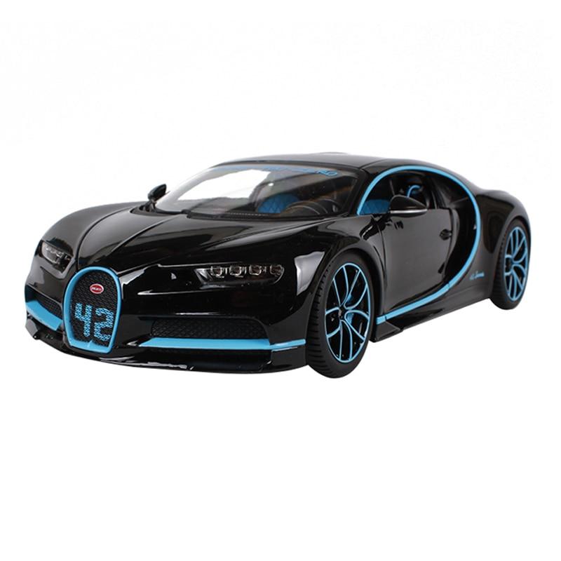 Bugatti Chiron 새로운 색깔 252를위한 Maisto 1:18 - 장난감 차량