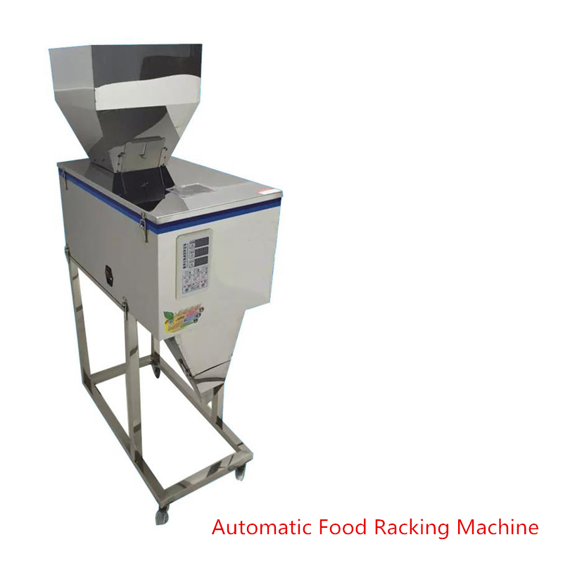 New 10-1200g Automatic Food Racking Machine for Granular Powder Pack food electronic components 1 Year Quality guarantee cursor positioning fully automatic weighing racking packing machine granular powder medicinal filling machine accurate 2 50g