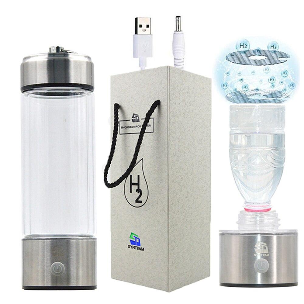 Synteam Hydrogen бутылка с ионизатором воды Мультифункциональный адаптер минеральная бутылка для воды щелочной воды генератор водорода WAC018