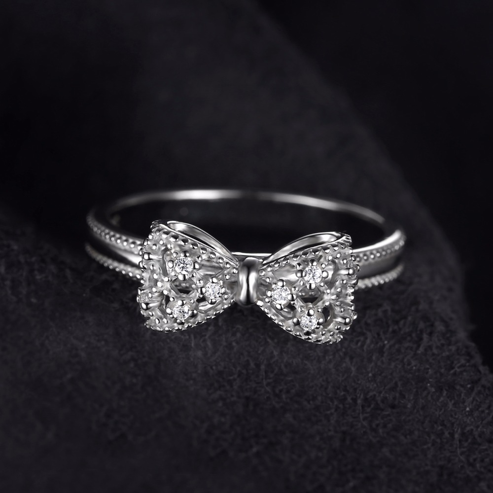 finger gold bow ring in rings jewelry zircon engagement women color crystal wholesale iparam austria item accessories wedding from