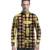 Collar del soporte de los hombres tops ropa dashiki africano diseño irregular de impresión para hombre de la moda camisas de encargo profesional ropa de áfrica