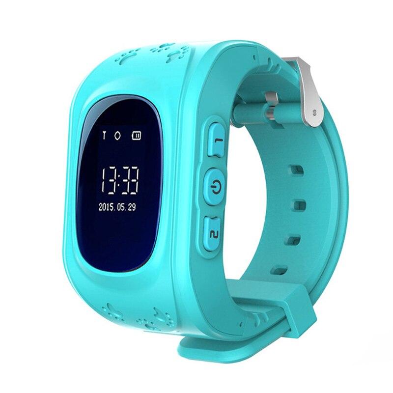 Q50 Enfants Montre-Bracelet À Puce GPS Suivre Puce Montre SOS Appel Location Finder Locator Tracker Bébé Anti Perdu Moniteur pour Garçons filles