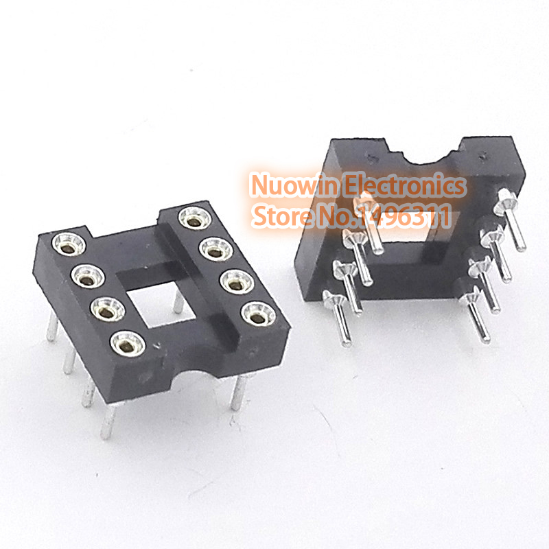 30 Pcs 8 Pin DIN Female Socket Soldering Plug Socket Soldering DIY Connector T2