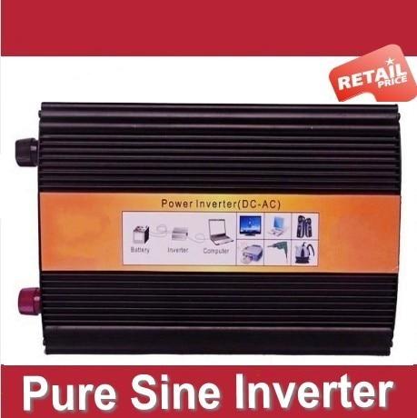 Digital Display Pure Sine Wave Power Inverter 2000W 2000 WATT DC 12v - AC 210v 220V 230v 240V free shipping