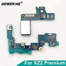 """Dower Tôi Proximity Cảm Biến Ánh Sáng Flash Vibrator Đầu Nối Ăng Ten PCB Ban Đối Với Sony Xperia XZ2 Cao Cấp H8166 XZ2P Cộng Với 5.8"""""""