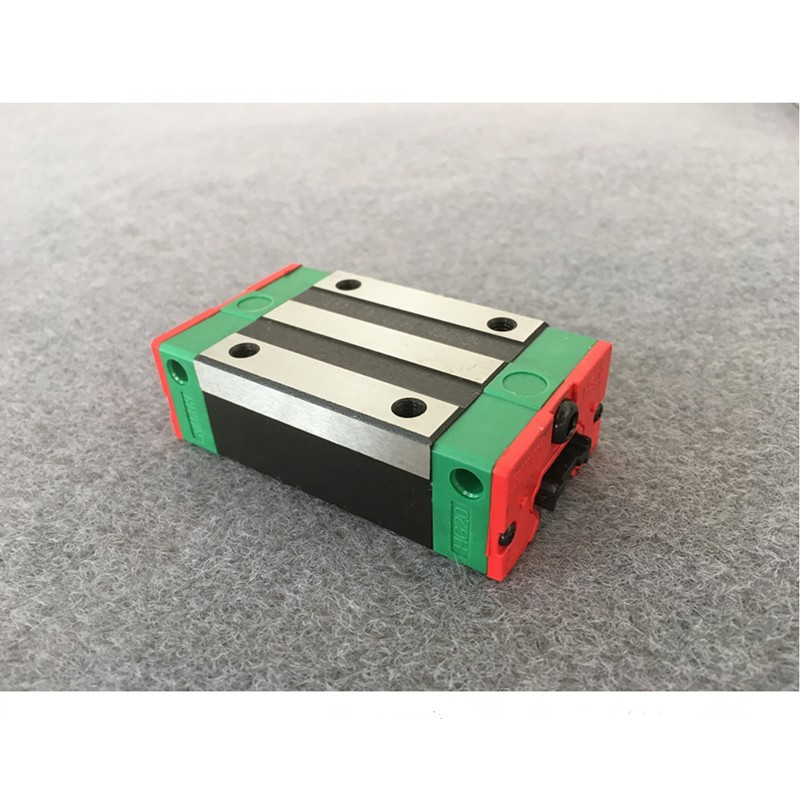 free shipping 2pcs 25mm HGR25 200 300 400 500 600 700 800 900 1000mm linear guide + 4pcs HGH25CA or HGW25CA carriage CNC parts