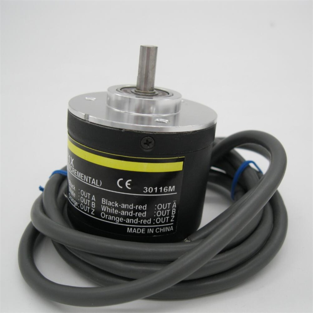 Devoted Free Shipping E6c2-cwz1x 1024p/r Encoder For Omron Rotary Optical Encoder Incremental Pulse Encoder