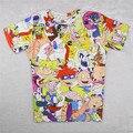 Alisister Moda Pokemon Hey Doug Arnold T Shirt Impresión de Dibujos Animados camisetas Mujer Hombre Divertido Camisetas Kawaii 90 s Camiseta Femme