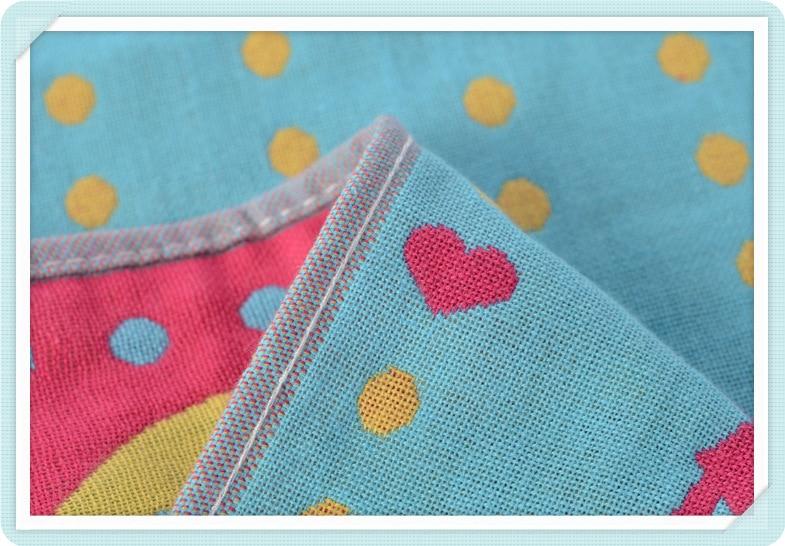 Купить с кэшбэком Cotton 3 Layers Gauze Towel Children Baby Face Towel Cartoon Cute Soft Absorbent Drying Kids Handkerchief Baby Washcloth 25*50cm