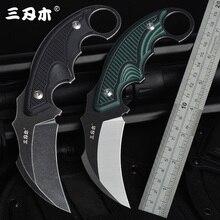 Sanrenmu S635 Fixed knife 14C28N Blade CS GO camping survival tactical hunting karambit