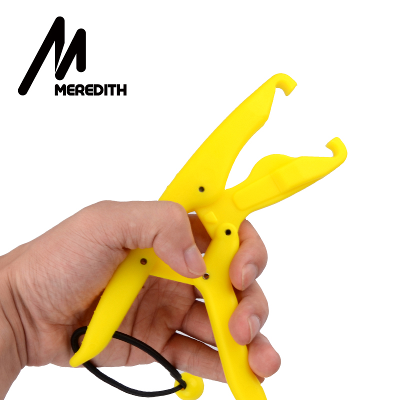 "Meredith 6.88"" ABS Plastic Lipgrip Floating Fishing Pliers Catfish Controller Holder Fishing Pliers Controling Tools Pesca"