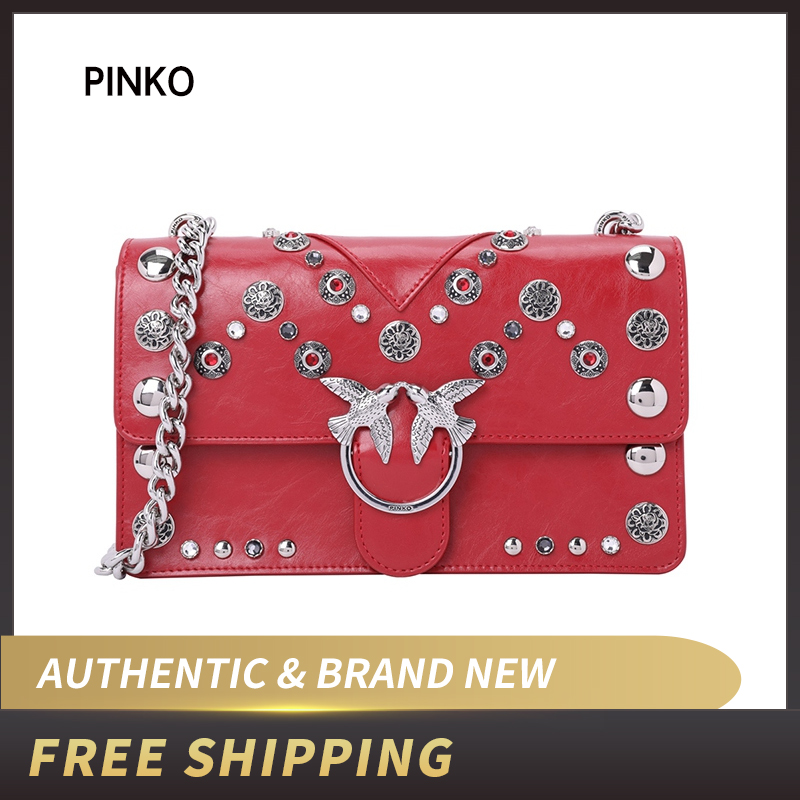 Detail Feedback Questions about Pinko Women's LOVE MAXI STUDS Shoulder Bag  1P217W Y512 on Aliexpress.com | alibaba group