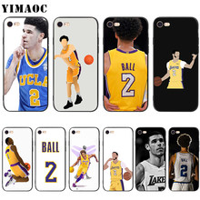 78bdd7ea94b YIMAOC Lonzo Ball Soft Silicone Case for iPhone XS Max XR X 8 7 6 6S Plus 5  5s se