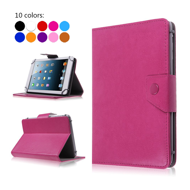Case For Tablet 7 Inch Universal PU Leather Stand Cover For Huawei Mediapad T1 7.0 T1 701U T1-701U 7 Inch Fundas Coque+3 Gifts