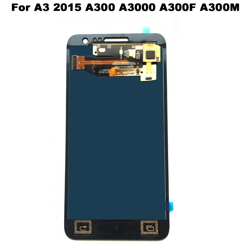 Per Samsung Galaxy A3 2015 A300 A3000 A300F A300M Display LCD 2015 Touch Screen Digitizer Assembly Per Samsung A3 LCD schermo