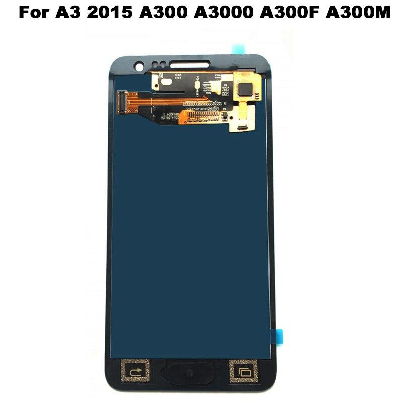 Pour Samsung Galaxy A3 2015 A300 A3000 A300F A300M LCD Affichage 2015 Écran Tactile Digitizer Assemblée Pour Samsung A3 LCD écran