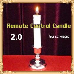 Recommander! Bougie télécommandée 2.0 par J.C scène magique Magia Gimmick mentalisme tours de magie Illusions