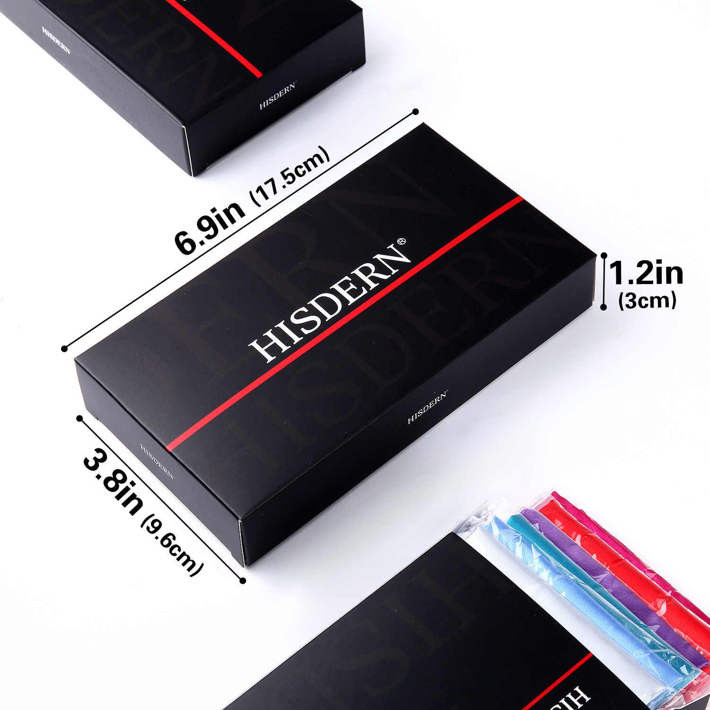 Карманный квадратный мужской модный Цветочный Пейсли 6 шт большой размер 25x25 см Свадебная вечеринка бизнес Подарочная коробка для носовых платков набор