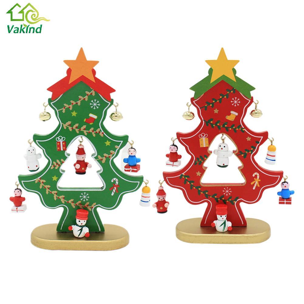 Decorador de arboles de navidad 187 home design 2017 - 1 Unid Diy Regalo De Navidad Decoraci N Del Rbol De Navidad Ornamento De Madera De Dibujos