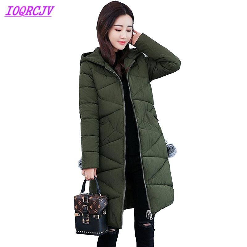 New   parka   women 2018 Winter Jacket Women Coats Hooded Ladies Coats Female   Parka   Thick Cotton Padded Lining Winter Female Coats
