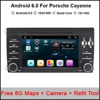 7 Quad Core 16 G CPU Android 6 0 1 OS Special Car DVD For Porsche