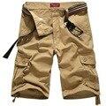 Plus Size 2016 Moda Verão Finas Shorts Da Carga Masculino Respirável Marca de Moda Roupas Casuais Calções dos homens de Trekking, UMA072
