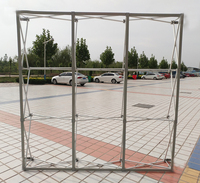 2.3M x 2.3M Flower Wall Stand metal Flower Backdrop Frame Good Quality Folding stand KT board meeting background frame