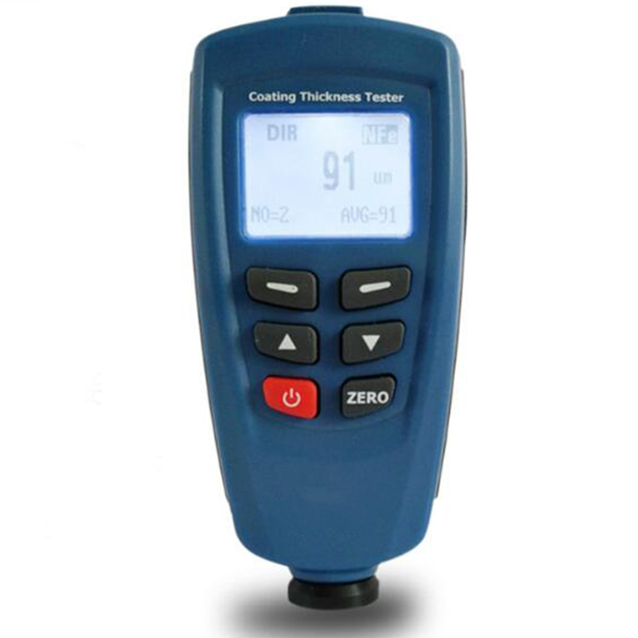DT 156 Paint Coating Thickness Gauge Digital Meter 0~1250um USB Cable CD Software Magnetic Induction / Eddy Current Probe Tester