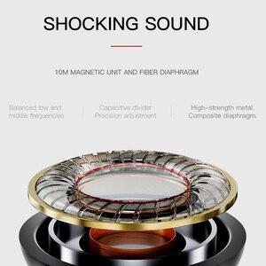 Image 4 - HOCO métal haute qualité HD clair Super basse stéréo dans loreille filaire écouteurs 3.5mm filaire casque avec micro pour iPhone Xiaomi Samsung