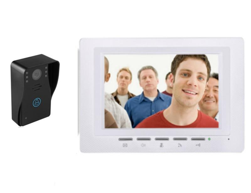 7 Inch 700TVL Water-Proof Video Door Phone 817-MJ