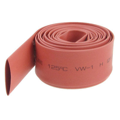 13mm Dia. Heat Shrinkable Tube Shrink Tubing 10M Red retardant heat shrink tubing shrinkable tube diameter cables 120 roll sale