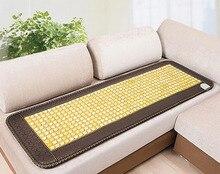 Good Jade Mat! Natural Tourmaline Cushion Health Care Pad Tourmaline Heat Physical Therapy Cushion Heat Free Shipping
