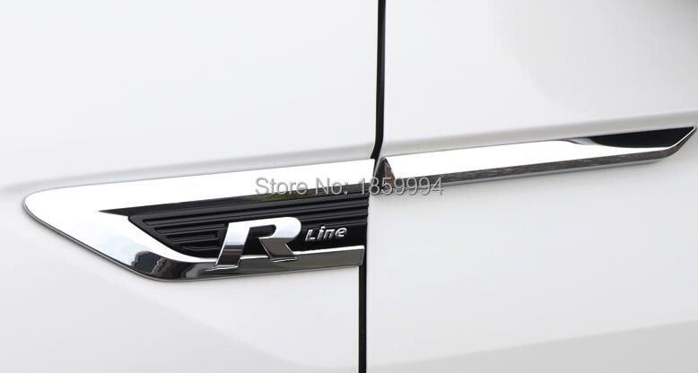 Sticker Badge Fender-Emblem Tiguan Trim for 5na/853 688A/5NA 688B Wing Door-Side VW Mk2