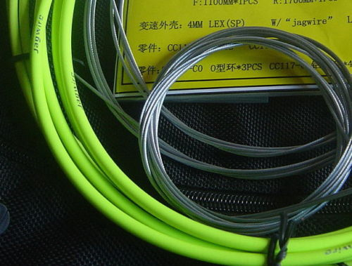 Jagwire Pro Shift Kit Road//Mountain SRAM//Shimano Organic Green