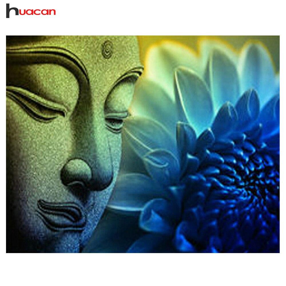 Huacan Buddha & Lotus Icona Disegni e schemi per puntocroce Mosaico Modello di Diamante Del Ricamo Piazza Piena di Strass HobbyHuacan Buddha & Lotus Icona Disegni e schemi per puntocroce Mosaico Modello di Diamante Del Ricamo Piazza Piena di Strass Hobby