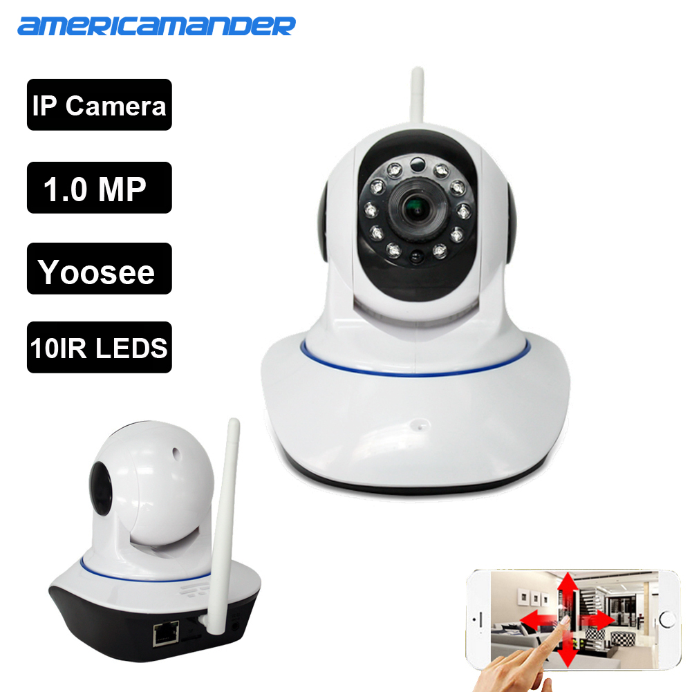 Dual antenna WiFi IP Smart Onvif Pet Camera wifi p2p MINI Wireless ...