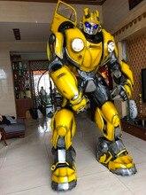 Bumblebee 1987 착용 할 수있는 갑옷 변압기 optimus prime 및 megatron 용 cosplay wearable armor
