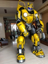 Bumblebee 1987  Wearable Armor Transformers Cosplay for Optimus Prime and Megatron