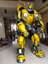 Bumblebee 1987 transformadores de armadura wearable cosplay armadura wearable para optimus prime e megatron